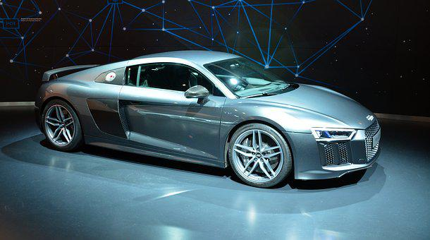 Audi R8 V10 Plus, Sports Car, Audi, R8, Auto, Vehicles