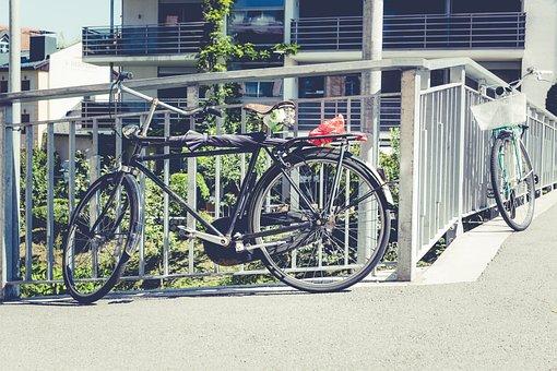 City, Bike, Wheel, Road, Wheels, Cycling, Urban