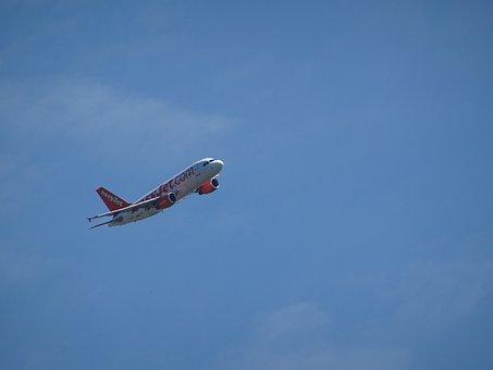 Aircraft, Start, Departure, Take Off, Climb, Technology