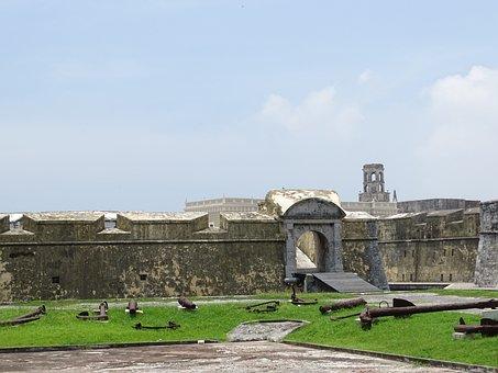 San Juan De Ulua, Veracruz, Mexico, Fortress, Port