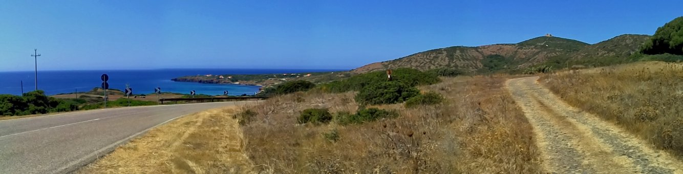 Sardinia, Sea, Path, Holiday, Sea view, Sand