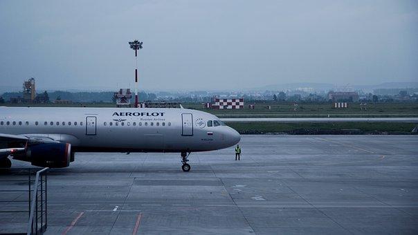 Saeroflot, Aeroflot, Amolet, Large, In The Air