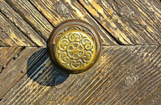Door, Door Handle, Door Knob, Ornament, Decor, Fitting