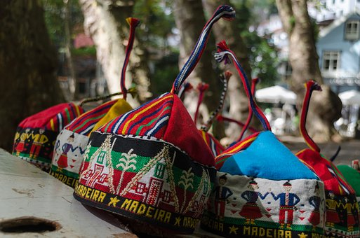 Funchal, Madeira, Portugal, Hat, Madeira Hat, Carapuca
