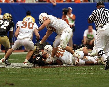 Football, Tackling, Teamwork, American, Game, Action