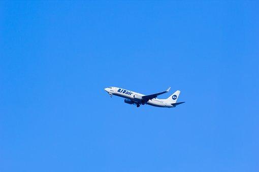 Utair Aviation, Utair, Plane, Large, In The Air