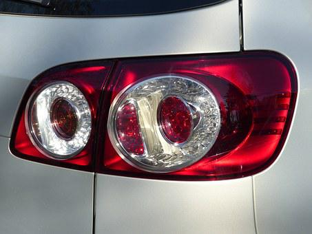 Reversing Lamp, Golf Plus, Volkswagen, Auto, Red