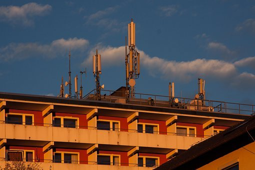 Facade, Masts, Telecommunications, Cell Towers