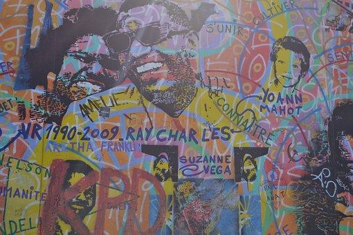 Jazz, Berlin, East, Side, Gallery, Art, Germany