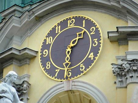 Clock, Time, Monument, The Number Of, Digits, Tips