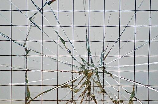 Background, Breach, Broken Glass, Crack, Design
