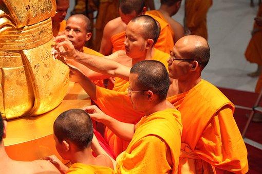 Phramongkolthepmuni, Monks, Buddhists, Made Form, Gold