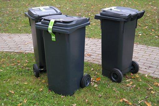 Garbage Can, Dustbin, Waste, Garbage, Ton, Waste Bins