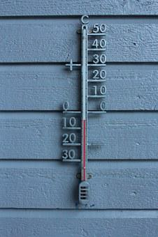 Thermometer, Winter, Frost, Vintage, Cold, Norway