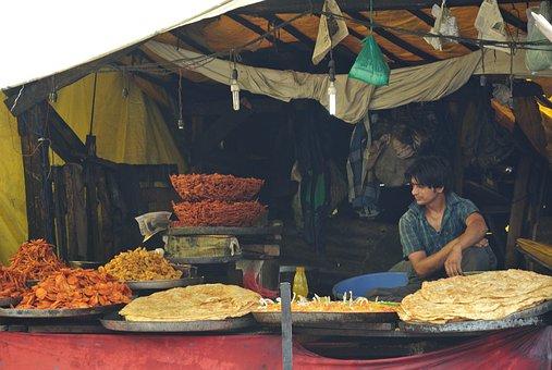 Kashmir, Food, Authentic, Indian Market