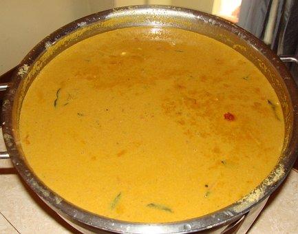 Food, Kadle Curry, Cuisine, South Indian, Kodagu, India