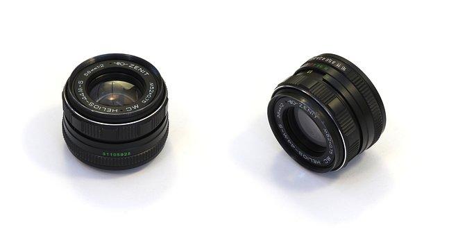 Helios 44 M, Digital, Camera, Photo, Lens