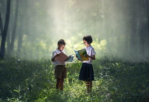 Children, Book, Dear, Pa, Asia, As Children, Boys