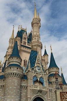 Castle, Magic Kingdom, Fantasy, Princess, Disney