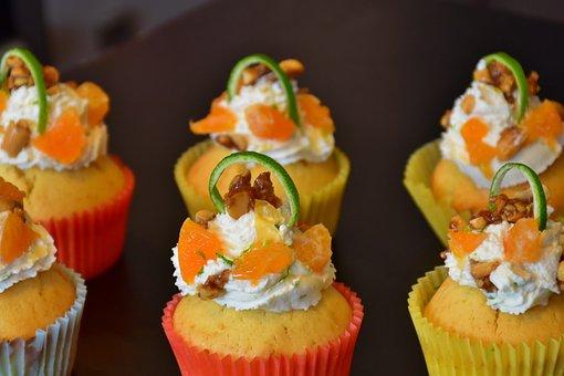 Cupcake, Muffin, Cake, Candy, Tart, Cake Decorations