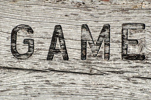 Wooden Sign, Game, Rustic, Weathered, Sign, Wood