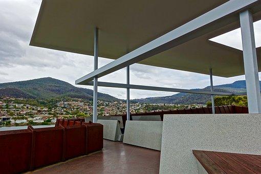 Pavillion, Mona, Tasmania, Outlook, Modern