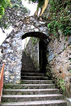Stairs, Wall, Step, Upload, Stone, Path, Orizaba