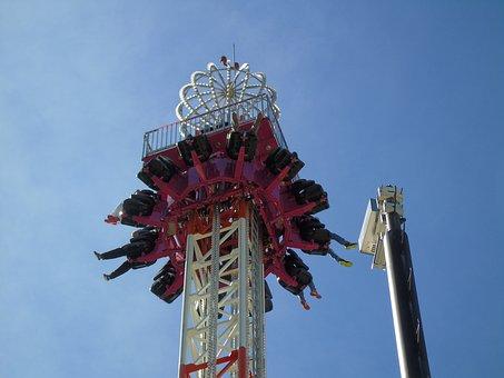 Fun, End, Game, Sky, Fair, Machine, Adrenaline, Speed