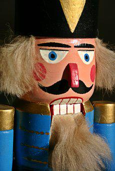 Nutcracker, Wood, Fig, Christmas, Ore Mountains