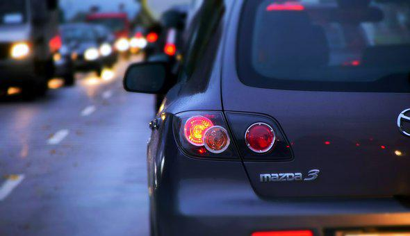 Jam, Autos, Traffic, Road, Night, Vehicles, Pkw, Drive