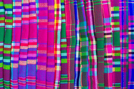 Scarf, Colors, Fabric, Range, Colorful, Wear, Many