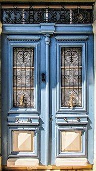 Door, House, Entrance, Wood, Architecture, Front Door