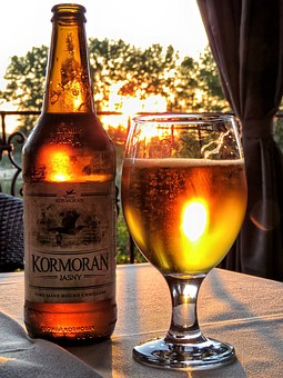 Beer, Light Beer, Cold Beer, Cormorant Beer, Cormorant