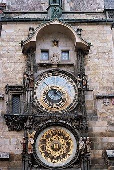 Prague, Clock, Historic, Old, Astrology, City, Landmark