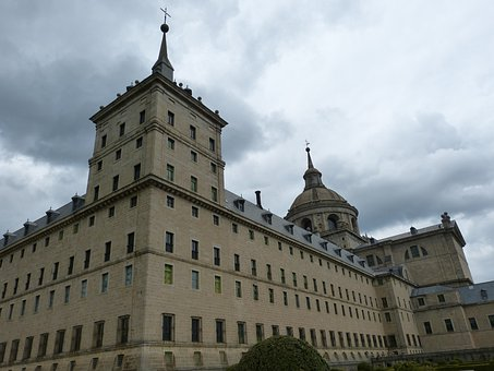 Madrid, Spain, Castile, Escorial, Unesco