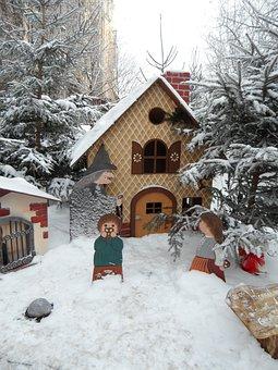 Fairy Tales, Fairy Tale Forest, Snow, Snowy