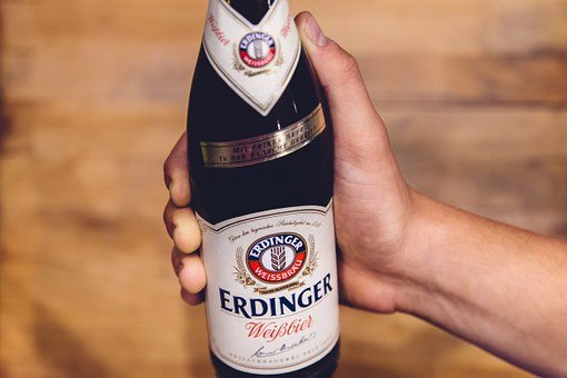 Beer, Bottle, Hand, Holding, White Beer, Alcohol