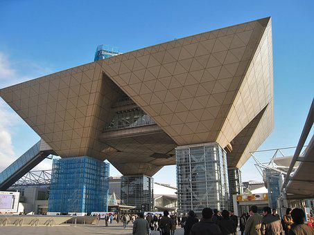 Tokyo Big Sight Japan, Building, Structure