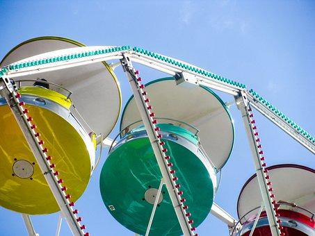 Ferris Wheel, Wheel, Fun, Attraction, Amusement, Park
