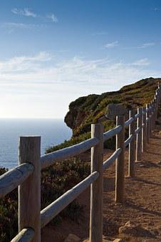 Portugal, Sintra, Ocean, Sea, Nature, Coast, Summer