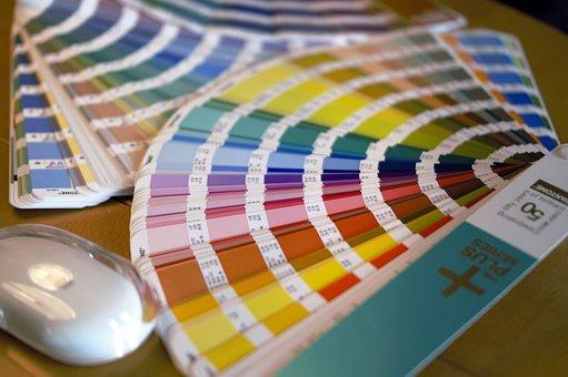 Swatches, Pantone, Printing House, Printer, Color