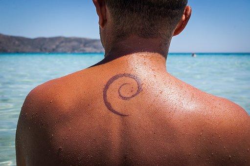 Tattoo, The Back, Geek, Debian, Linux