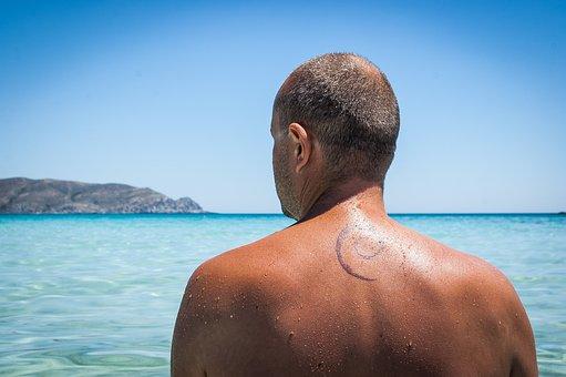 Tattoo, The Back, Debian, Linux, Geek