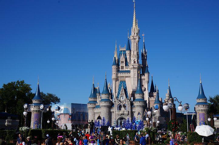 Walt Disney World, Cinderella's Castle, Magic Kingdom