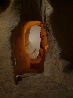 Underground City, Turkey, Underground, Cappadocia