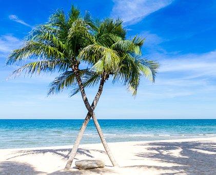 Atlantic Ocean, Background, Ao, Beach, Pretty, Blue