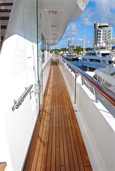 Yacht, Yacht Deck, Starboard, Starboard Deck, Deck