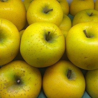 Ringo, Apple, Yellow, Seiyu Ltd, Living, Supermarket