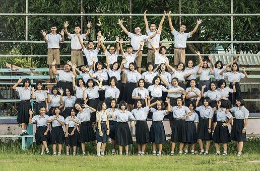 Thailand, Enjoy, Park, Boys, Study Of, Life, Volunteer