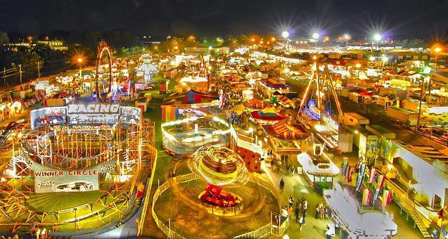 Activity, Amusement, Autumn, Big, Carnival, Circle